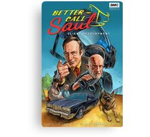 Better Call Saul Poster Canvas Print