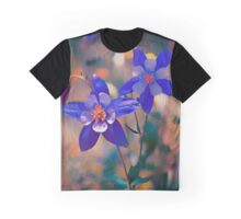 Colorado State Flower.  Graphic T-Shirt