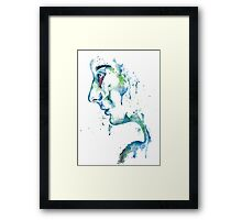 The Weeping Lady Framed Print