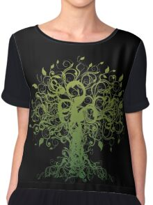Meditate, Meditation, Spiritual Tree Yoga T-Shirt Chiffon Top