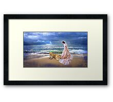 """""""The Guardian Lionesses"""" Framed Print"""