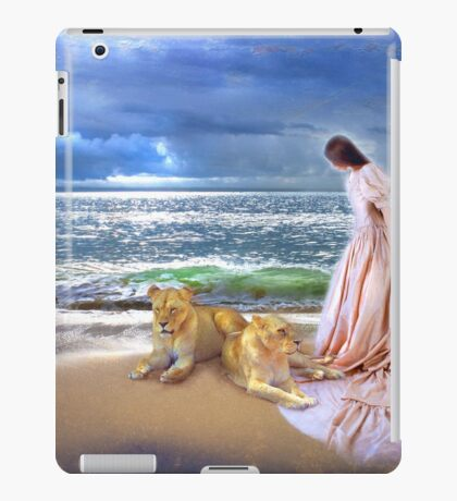 """The Guardian Lionesses"" iPad Case/Skin"