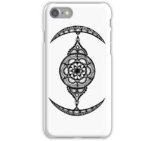 Stippled Mandala Star Wars TIE - Fighter iPhone Case/Skin