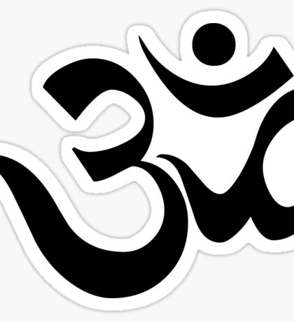 "Yoga ""Om Symbol"" T-Shirt Sticker"
