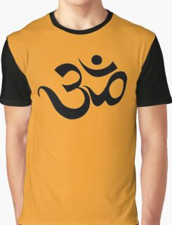 "Yoga ""Om Symbol"" T-Shirt Graphic T-Shirt"