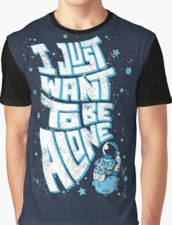 Lonely Astronaut Graphic T-Shirt