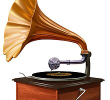 Gramophone  by Paul Fleet