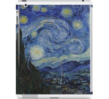 VINCENT, Starry Night, Vincent van Gogh, Art, Artist, 1889  iPad Case/Skin
