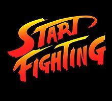 Start Fighting by tshirtbaba