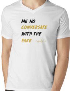 THat Part White T Shirt Mens V-Neck T-Shirt