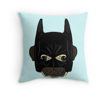 my pug is a hero Throw Pillow