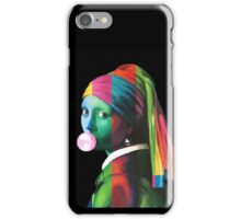 Pop Vermeer Bubble Girl iPhone Case/Skin