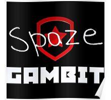 Gambit spaze   CS:GO Pros Poster