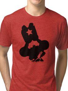 Franky Super Black Tri-blend T-Shirt