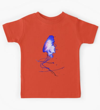 Cool Blue Cute Fun Unique Summer Jellyfish Kids Tee
