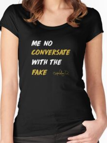 THat Part Black T shirt Women's Fitted Scoop T-Shirt