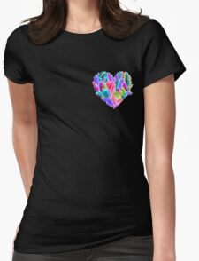 Love Stone Womens Fitted T-Shirt
