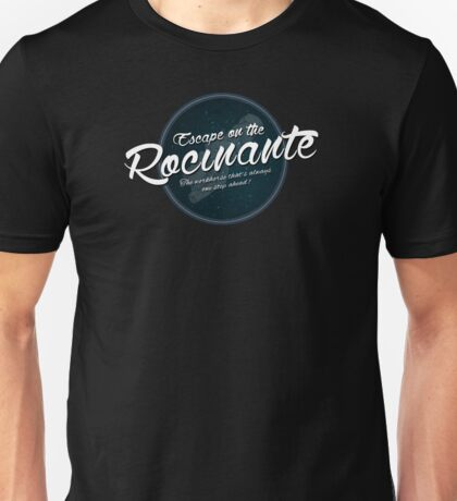 The Expanse - Rocinante - Teal Clean Unisex T-Shirt