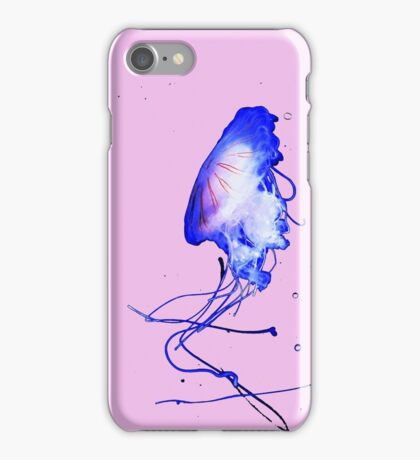 Cool Blue Cute Fun Unique Summer Jellyfish iPhone Case/Skin