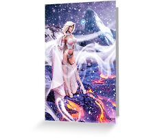 Marisa Miller as Emma Frost Greeting Card
