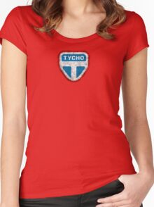 The Expanse - Tycho Logo - Dirty Women's Fitted Scoop T-Shirt