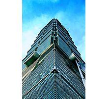 """#886.001 """"The Jade of Taiwan/ Taipei 101"""" Photographic Print"""