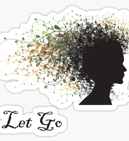 """Let Go"" Yoga Sticker"