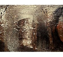 Abstract Painting wall art contemporary artwork earth tone neutral HEALING LIGHT Photographic Print