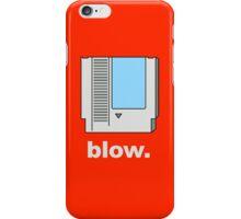 Blow. iPhone Case/Skin