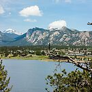 Estes Lake-Estes Park Colorado by Melody Ricketts