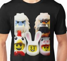 Cute Lego Animal heads Unisex T-Shirt