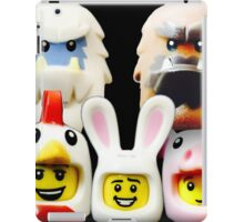Cute Lego Animal heads iPad Case/Skin