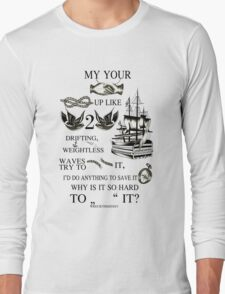 My hands, your hands Long Sleeve T-Shirt