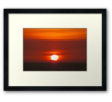 Caribbean Sunrise Framed Print