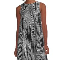 Abstract 080716(5) A-Line Dress