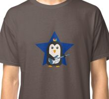 Rock Guitar Penguin Classic T-Shirt