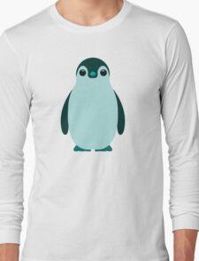 Blue Penguin  Long Sleeve T-Shirt