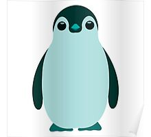 Blue Penguin  Poster