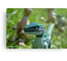 LEGO Velociraptor Metal Print