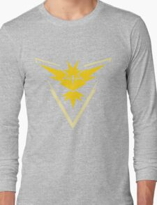 Team Instinct Pokemon Go Long Sleeve T-Shirt