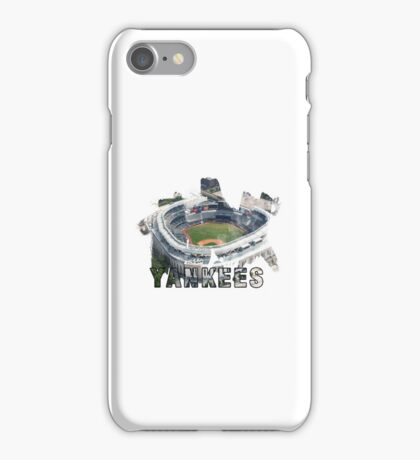 Yankee Stadium Grunge Logo iPhone Case/Skin
