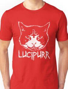 Lucipurr Satan Funny Cat Goth Unisex T-Shirt