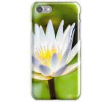 White Lotus Water Lily iPhone Case/Skin