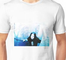 Coming up the stairs Unisex T-Shirt