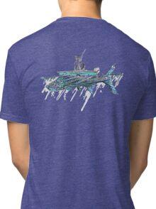 Tarpon and Fisherman Tri-blend T-Shirt