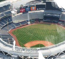 Yankee Stadium Grunge Logo Sticker