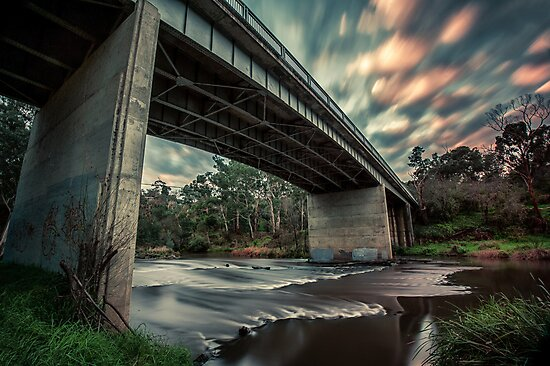 Warrandyte Bridge by mellosphoto