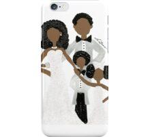 African American Wedding Card iPhone Case/Skin