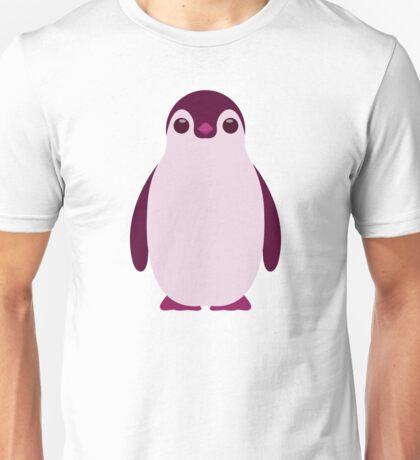 Purple Penguin Unisex T-Shirt