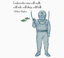 Underwater Men Kids Tee